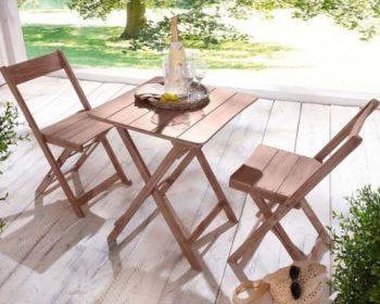 Gartenmöbel set alu 3 teilig  Gartenmöbel-Sets bis 4 Personen & Wohnaccessoires online bestellen ...