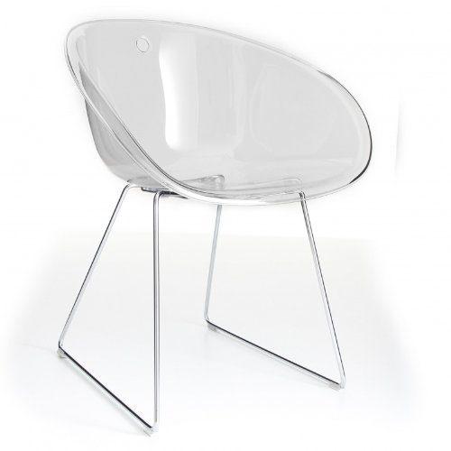 gliss stuhl transparent acryl online kaufen bei woonio. Black Bedroom Furniture Sets. Home Design Ideas