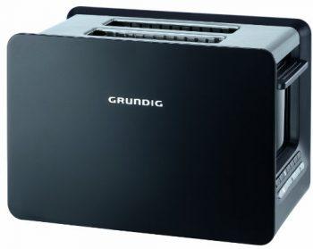 Grundig-TA-7280-2-Schlitz-Toaster-Toast-Gourmet-mit-LED-Display-1000-Watt-schwarz-0