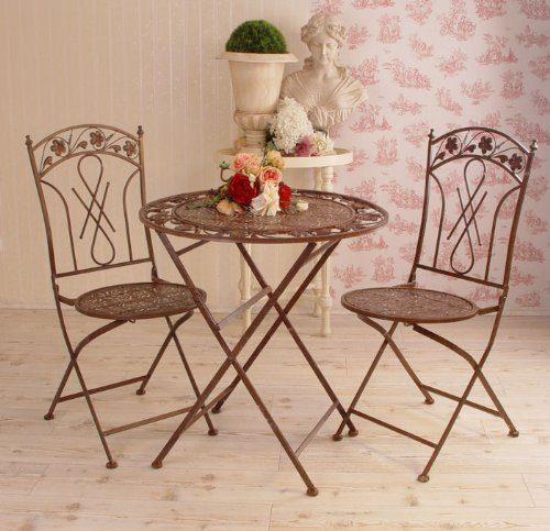 historische sitzgruppe tisch st hle wie anno 1900 vintage look online kaufen bei woonio. Black Bedroom Furniture Sets. Home Design Ideas