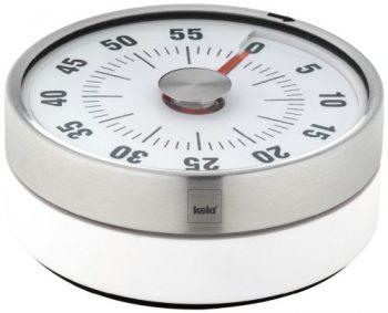 Kela-11246-Kchentimer-Speed-aus-ABS-Kunststoff-wei-Rckseite-magnetisch-0