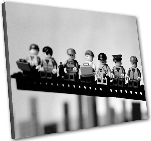 lego new york pause in 80x60cm bilder kunstdrucke auf leinwand in erstklassiger. Black Bedroom Furniture Sets. Home Design Ideas
