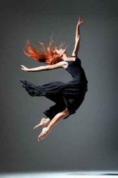 Luxus-Bild-Leinwandbild-Dancing-Ballerina-Tnzerin-6090-cm-Galeriequalitt-Einzelanfertigung-0