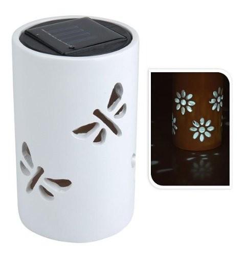 mq solarleuchte solarlampe tischleuchte led licht solar ton topf garten beleuchtung online. Black Bedroom Furniture Sets. Home Design Ideas
