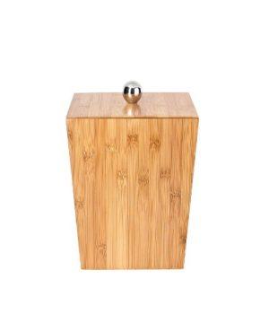 Ridder-22070811-Abfalleimer-mit-Deckel-Bamboo-natur-0