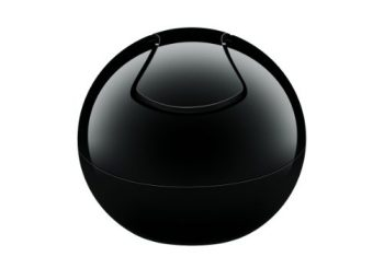 Spirella-1015139-Bowl-Uni-schwarz-Abfalleimer-0