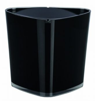 Spirella-1015468-Trix-Acrylic-schwarz-Abfalleimer-0
