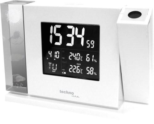 Technoline Wt 643 Premium Projection Alarm Clock With