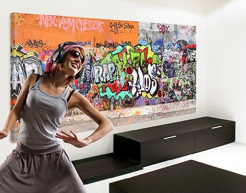 WTD-40981-Leinwandbild-No35-Graffiti-120-x-40-cm-0