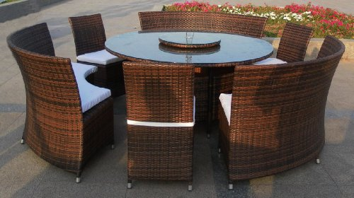 xxl rattan lounge gartenm bel garnitur rondo f r bis zu 12 personen online kaufen bei woonio. Black Bedroom Furniture Sets. Home Design Ideas