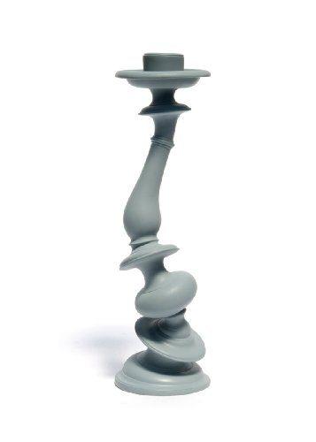 AREAWARE-Distortion-Candlestick-gray-Kerzenhalter-grau-0