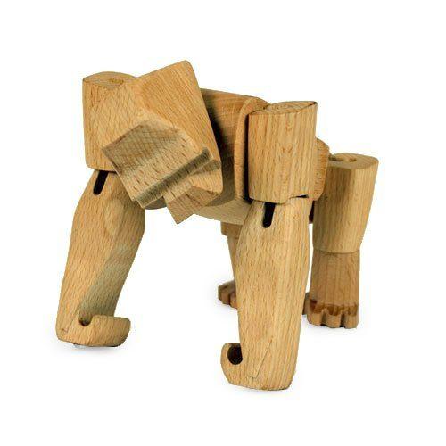 Areaware-Wooden-Creatures-Hanno-der-Gorilla-klein-0