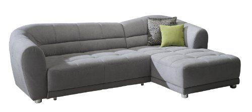 Cavadore-5018-Polsterecke-Rihanne-3-er-Bett-Longchair-XL-277-x-81-x-173-cm-Euphoria-grau-0