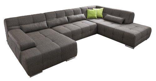 Big sofas billig kaufen big sofa marbeya cm grau ber for Wohnlandschaft zu verschenken
