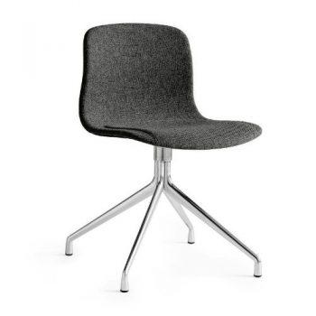 HAY-About-a-Chair-Drehstuhl-gepolstert-asche-Stoff-Hallingdal-180-Gestell-poliert-0
