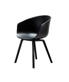 HAY-Stuhl-About-a-Chair-AAC-22-schwarz-Gestell-Eiche-Schwarz-Schale-Polypropylen-Beine-Eiche-schwarz-Esszimmerstuhl-Kchenstuhl-Speisezimmerstuhl-0