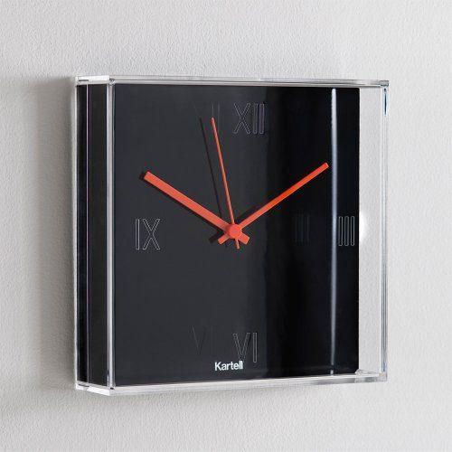 kartell 190009 wanduhr tic tac schwarz online kaufen bei woonio. Black Bedroom Furniture Sets. Home Design Ideas