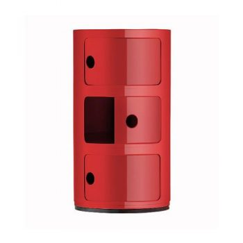 Kartell-496710-Container-Componibili-rot-0