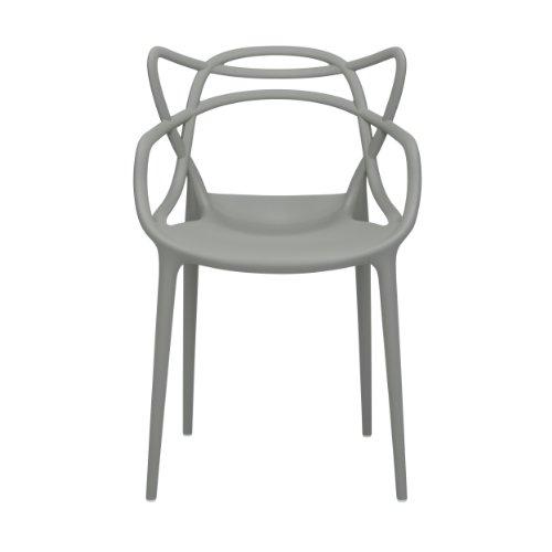 kartell 586507 stuhl masters grau online kaufen bei woonio. Black Bedroom Furniture Sets. Home Design Ideas