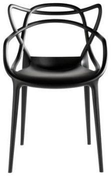Kartell-586509-Stuhl-Masters-schwarz-0
