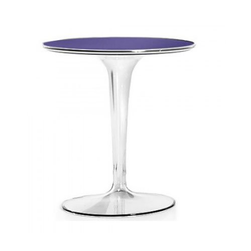 kartell 8600v4 tip top side table violet by kartell online kaufen bei woonio. Black Bedroom Furniture Sets. Home Design Ideas