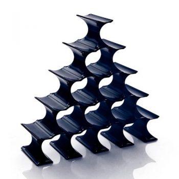 Kartell-Infinity-Flaschenstnder-blau-Polypropylen-0