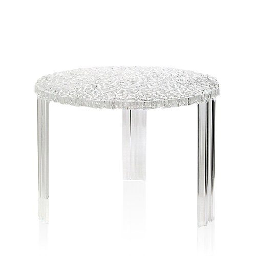 Kartell 8502/B4 T-Table by Patricia Urquiola, Pack of 1, Transparent ...
