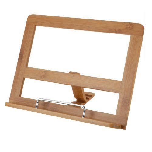 Kochbuchhalter-aus-Bambus-Holz-ca-32-x-24cm-mit-3-verschiedenen-Neigungswinkel-0