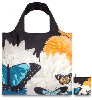 Loqi-BOBU-Design-Einkaufstasche-Botany-Butterfly-0