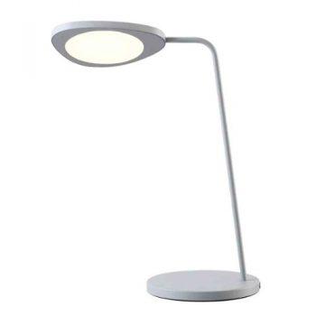 Muuto-LED-Tischleuchte-Leaf-grau-0