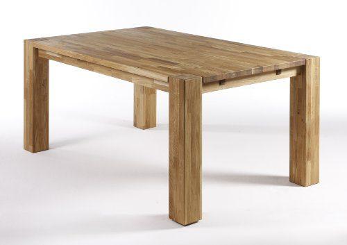 SAM-Tisch-Hugo-Wildeiche-Holztisch-100-x-200-cm-gelt-Eiche-Ansteckplattenvorbereitung-massiv-Lieferung-mit-Spedition-teilzerlegt-0