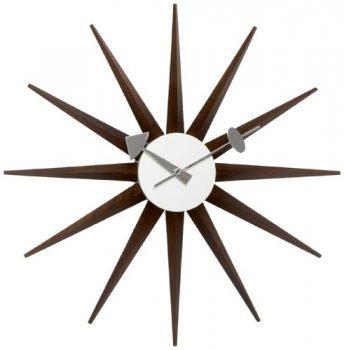 Vitra-20125303-Wanduhr-Sunburst-Clock-470-mm-walnuss-0