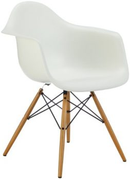 Vitra-4401120011-Stuhl-DAW-Eames-PlArmchair-Gestell-Ahorn-gelblSchale-wei-0