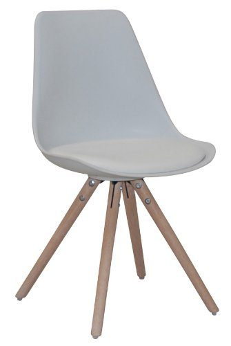 designbotschaft bergen stuhl wei eiche esszimmerstuhl besucherstuhl online kaufen bei woonio. Black Bedroom Furniture Sets. Home Design Ideas