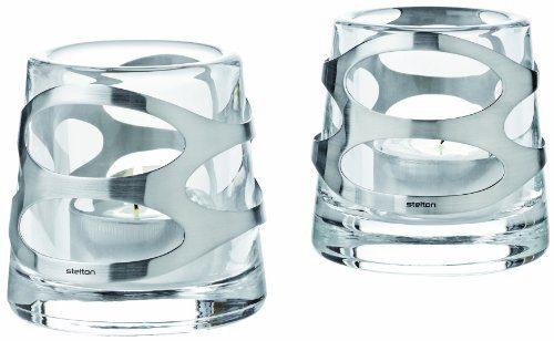 Embrace-Teelichthalter-2er-Set-edelstahlglas-0