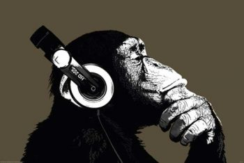 Empire-409263-The-Chimp-Stereo-Poster-915-x-61-cm-0