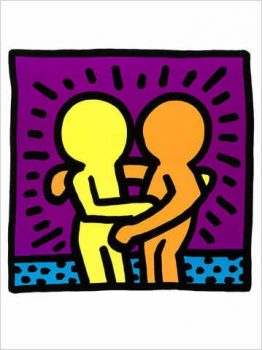 Keith-Haring-Poster-Kunstdruck-Untitled-60-x-80-cm-0