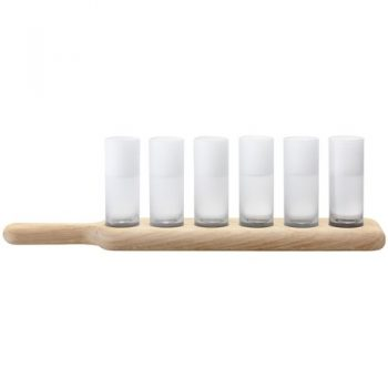 LSA-Bar-Paddle-wodka-set-oak-paddle-farbige-Glsser-0