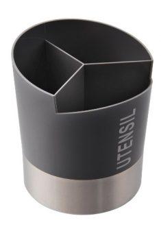 Zeller-24876-Utensilienhalter--145-x-17-cm-Edelstahl-grau-0
