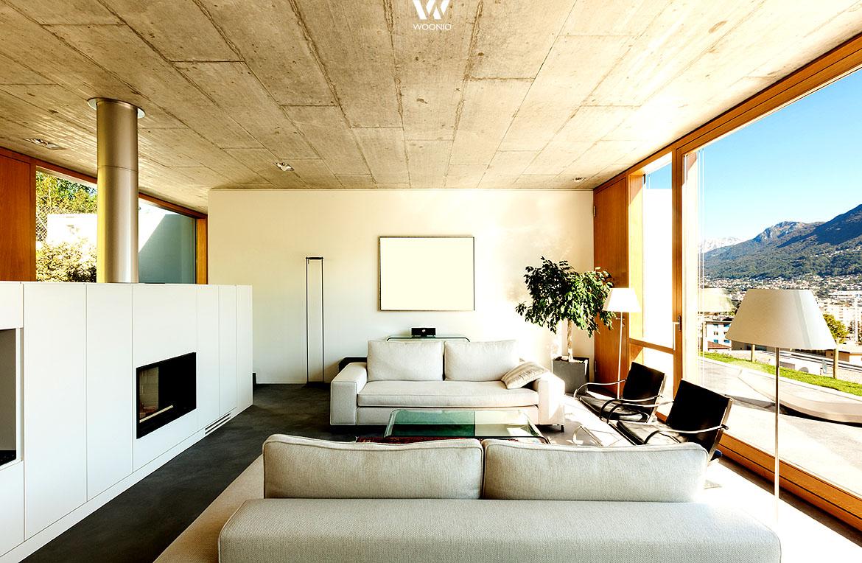 die deckengestaltung im wohnzimmer wie praktisch in jedem. Black Bedroom Furniture Sets. Home Design Ideas