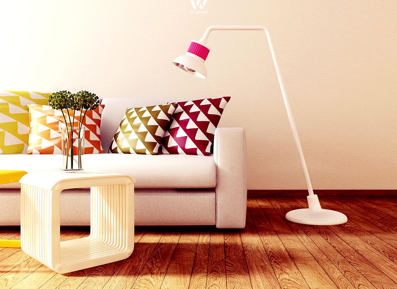Frisch und jung sind Farben wie Pink, Gelb und Orange - Wohnidee by ...