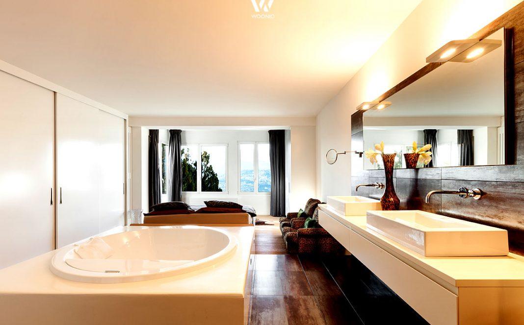 das pers nliche spa badezimmer inklusive betten zum. Black Bedroom Furniture Sets. Home Design Ideas