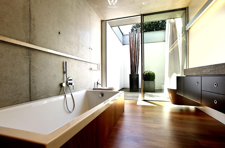 die im boden eingelassene badewanne l dt praktisch t glichen zum wellness bad ein wohnidee by. Black Bedroom Furniture Sets. Home Design Ideas
