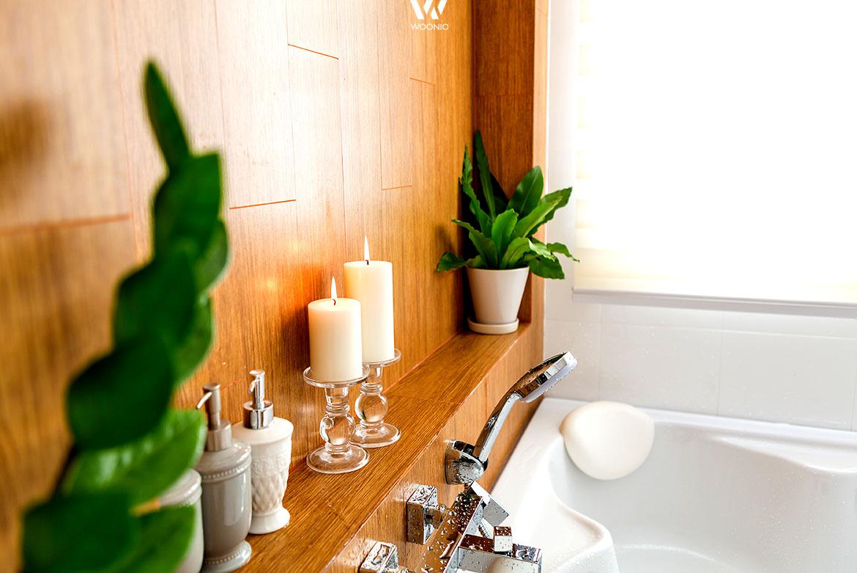 Mit etwas grüner Deko im Bad erschafft man sich leicht einen kleinen ...