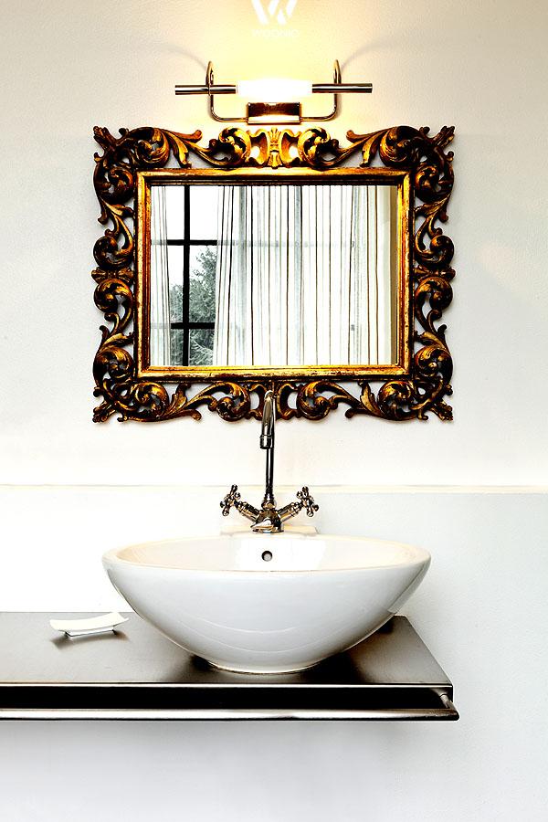 Einzigartige Spiegel Wirken Wie Aus Vergangenen Ehrwürdigen Zeiten    Wohnidee.