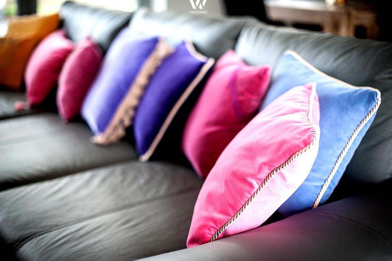 kissen sind wunderbare und g nstige deko die jederzeit. Black Bedroom Furniture Sets. Home Design Ideas