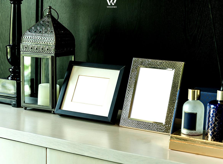 Die ideale Deko fürs Wohnzimmer - farblich sehr gut abgestimmt ...