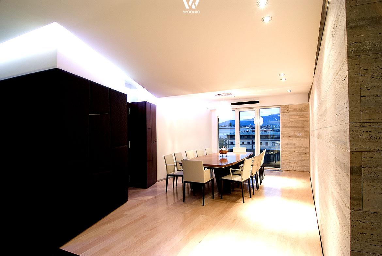 die einzelnen spots wirken als indirekte beleuchtung und geben damit ein tolles licht wohnidee. Black Bedroom Furniture Sets. Home Design Ideas