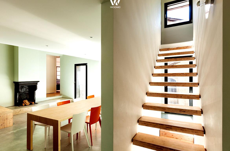 gr n und rot sind komplement rfarben und wirken hier absolut frisch wohnidee by woonio. Black Bedroom Furniture Sets. Home Design Ideas