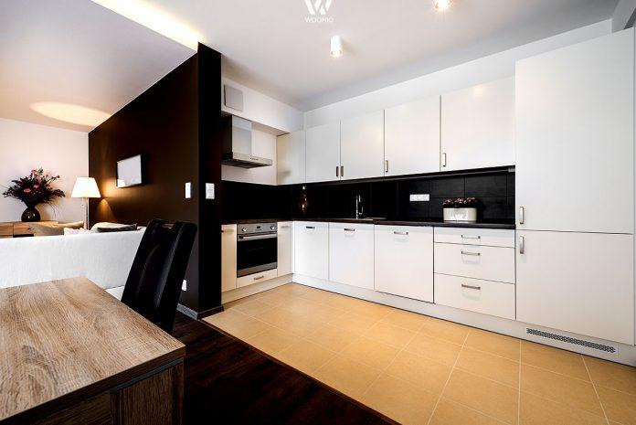 einzelne w nde k nnen auch mal einen eigenen anstrich vertragen und damit die k che noch mehr. Black Bedroom Furniture Sets. Home Design Ideas